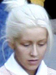 Christina Aguilera without makeup